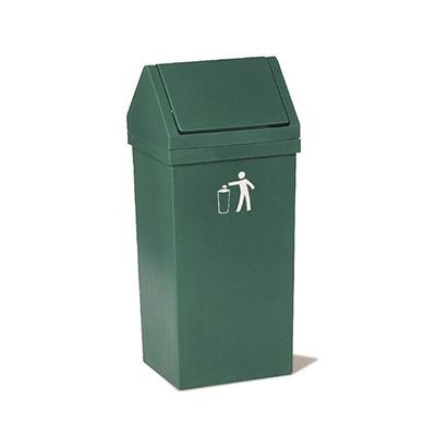 Papelero para residuos con tapa vaiven