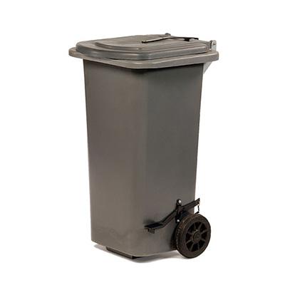 Carro para residuos con ruedas x 120 lts