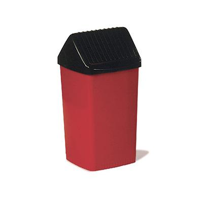Recipiente para residuos con tapa vaiven